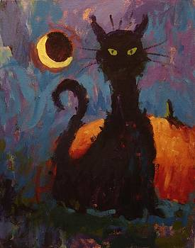 Skanky the Cat does Halloween by R W Goetting