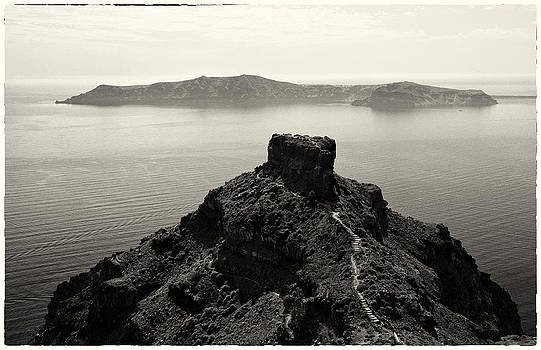 Skaros Trails of Santorini by Jack Daulton