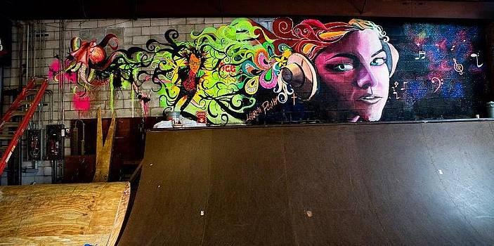 Skate Park Mural by Lauren Penha