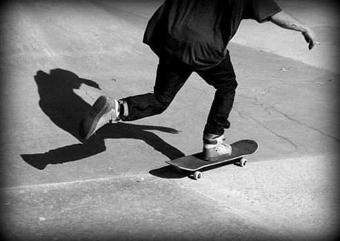 Fiona Kennard - Skateboard Shadow