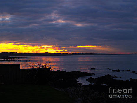 Skerries Harbor Sunset by Patricia Griffin Brett