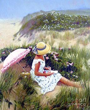 Candace Lovely - Sketching Vineyard Dunes