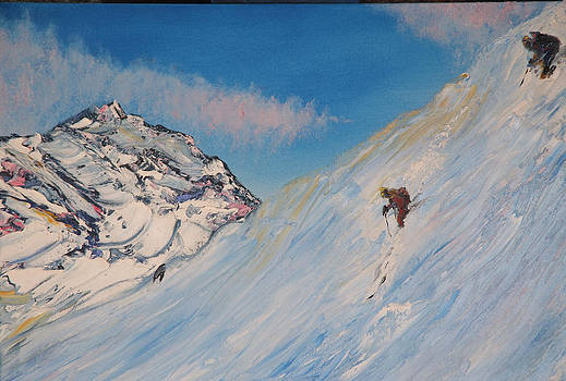 Ski Alaska by Impressionism Modern and Contemporary Art  By Gregory A Page