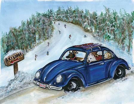 Ski Dogs by Kim Arre-gerber