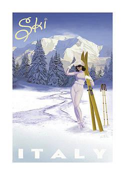 Ski Italy by Vintage