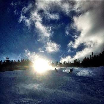 Ski on  by Eugene Bergeron