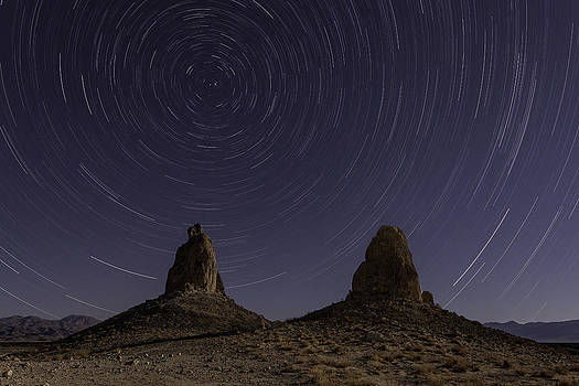 Skies Over Trona by Kevin L Cole