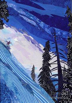 Skiing in the Catskills by Susan Minier