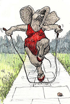 Skipping Rope by Donna Tucker