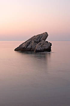 Skoutari Rock at Dawn by Christos Andronis