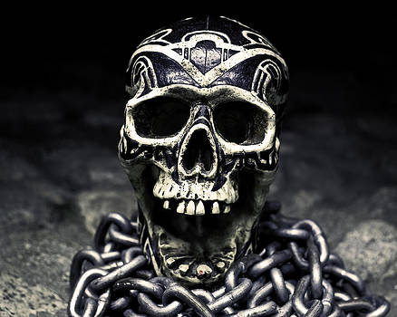 Skull and Chains by Rollie Robles