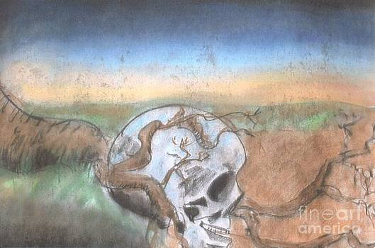 Skull And Root by Thomas Armstrong