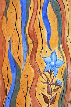 Sky Blue Petunia by Sherry Allen