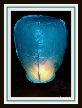 Gail Matthews - Sky Lantern Hovering