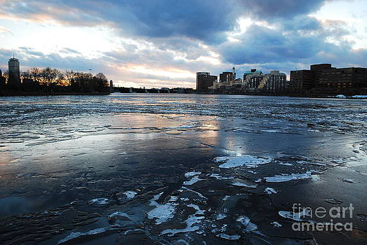 Sky meets ice by Susan Hernandez