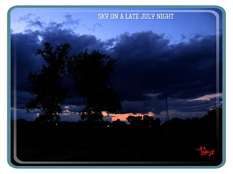 Sky On A Late July Night by Lele Pennington