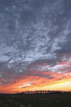 Sky on Fire by Bob Richter
