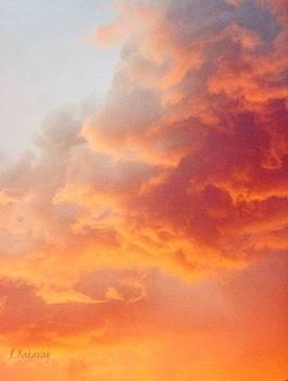 Sky on fire  by Natalya Karavay