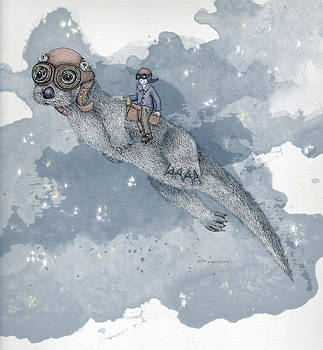 Sky Otter by Sarah Sutherland