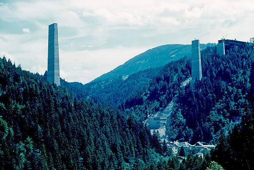 Sky Pillars 1962 by Cumberland Warden