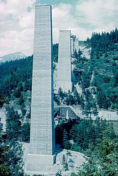 Sky Pillars 3 1962 by Cumberland Warden