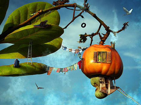 Sky pumpkin by Dimitar Vatev