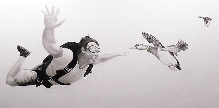 Skydiver by Angel Ortiz