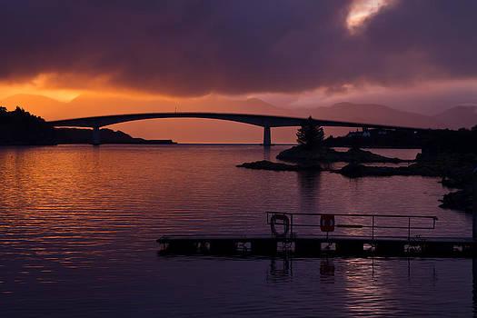 Skye Bridge at Kyle of Lochalsh by Gabor Pozsgai