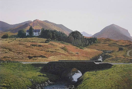 Skye Bridge Marsco Scotland by Rodger Insh