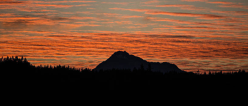Ronda Broatch - Skyfire Over the Olympic Mountains