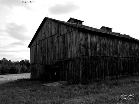 Skyline Barn by Ralph Dickerson