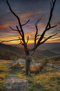 Skyline Drive Sunset by Wayne Letsch