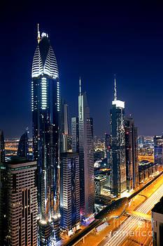 Fototrav Print - Skyline of Dubai at Night