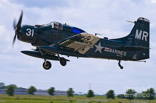 Tim Mulina - Skyraider Detparture