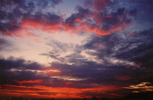 Sky's Afire by Jacquelyn Roberts