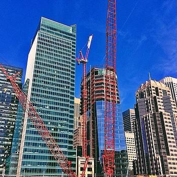 Skyscrapers In Soma San Francisco by Karen Winokan