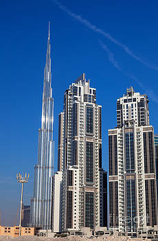 Skyscrapers on Dubai  by Fototrav Print
