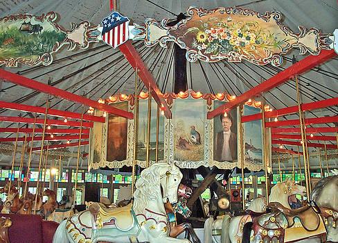 Barbara McDevitt - Slater Park Carousel Rounding Board