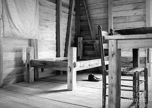 Kathleen K Parker - Slave Quarters Interior 3