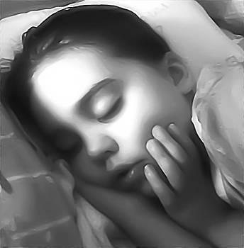 Sleeping Child by Loraine Ahearn-Mintzer