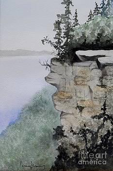 Sleeping Giant Overlook by Penny Stroening