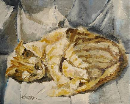 Sleeping in the sun by Veronica Coulston