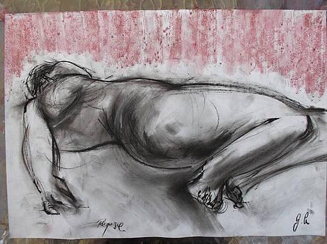 Sleeping Nude by Greg Hoey