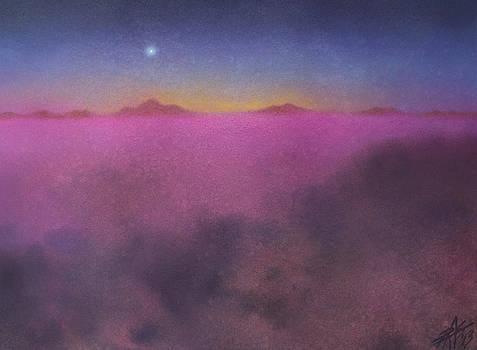 Robin Street-Morris - Sleeping Volcanoes and Evening Star