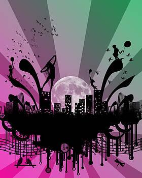 Sleepless City by Courtney Dutton