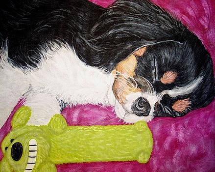Sleepy Cavalier by Karen Howell
