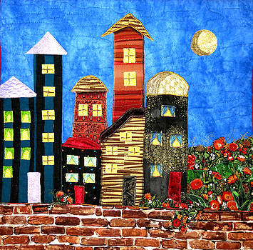 Sleepy City by Maureen Wartski