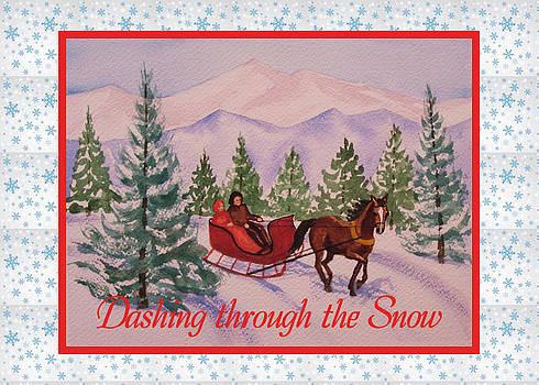 Ruth Soller - Sleigh Ride card