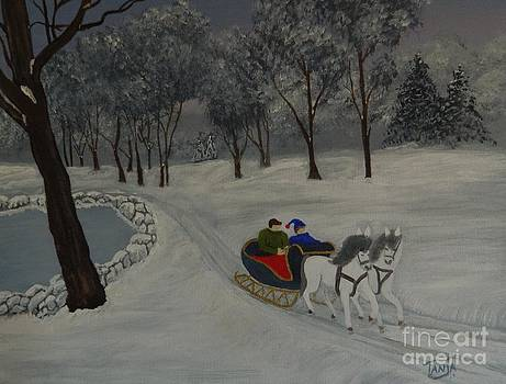 Sleigh Ride by Tanja Beaver