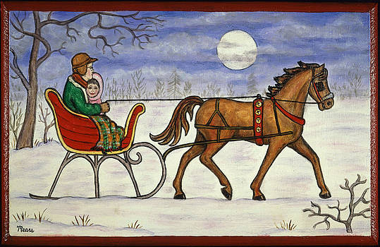 Linda Mears - Sleigh Ride with Grandpa